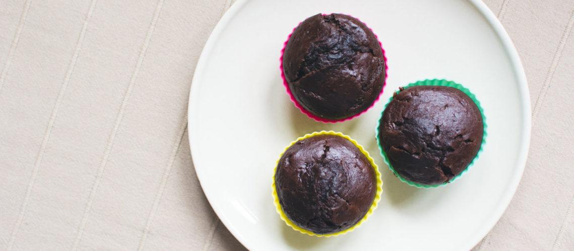 Dark muffins